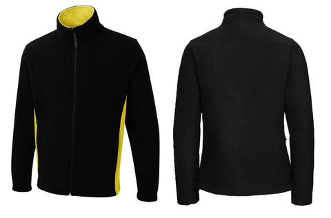 Two Tone Full Zip Fleece Jacket UC617