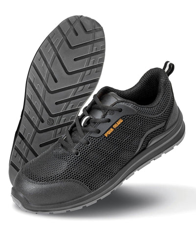 All-black safety trainer R456X