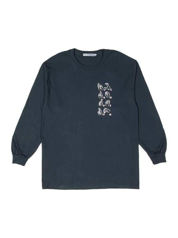 Signs Fair-y Long Sleeve Shirt Navy