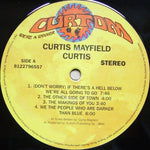 Curtis Mayfield - Curtis (Vinyl)