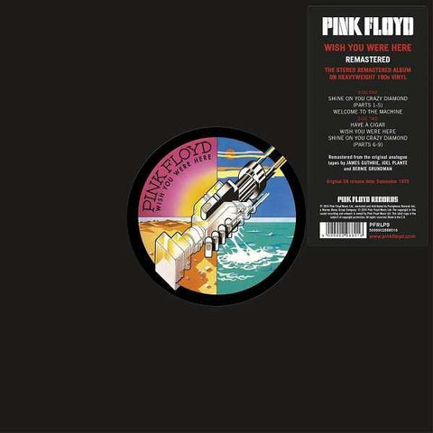 Pink Floyd - Wish You Were Here (Vinyl) Remastered