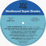 Various Artists -  Westbound Super Breaks - Essential Funk, Soul And Jazz Samples And Break Beats (2xLP Vinyl)