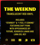 The Weeknd - Starboy (2xLP Vinyl) Red Vinyl