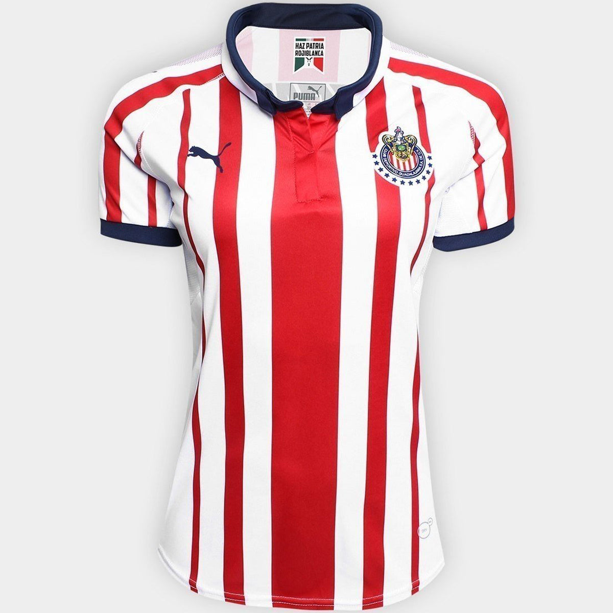 Women's Chivas 18/19 Home Jersey - White/Red