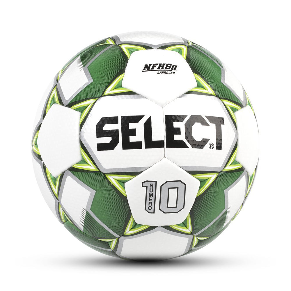 Numero 10 Soccer Ball White/Green