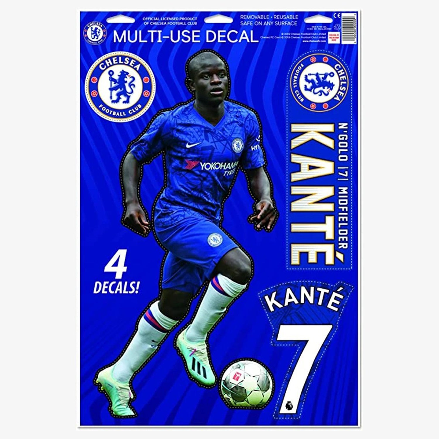 Kante Chelsea Decal 11x17