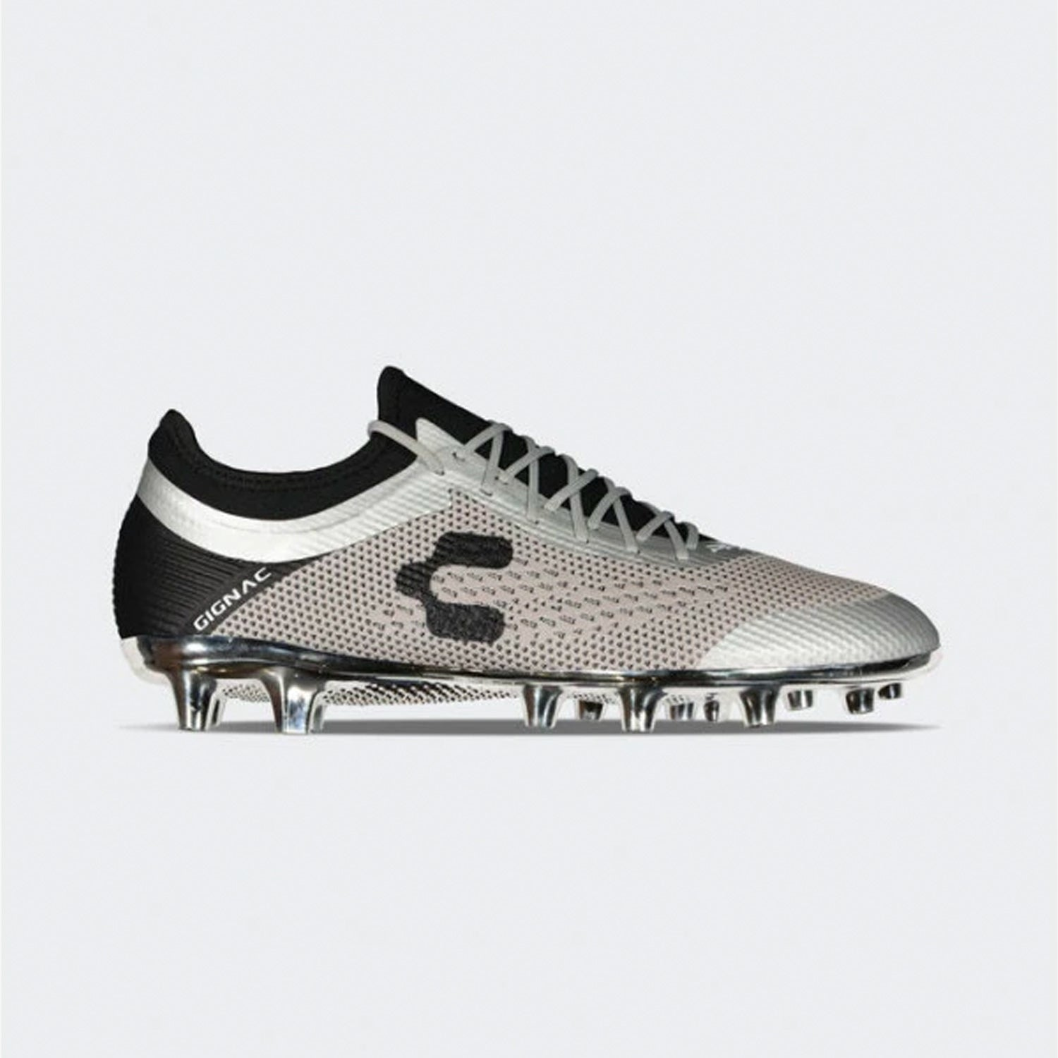 PFX Gignac FirmGround Soccer Cleats - Silver
