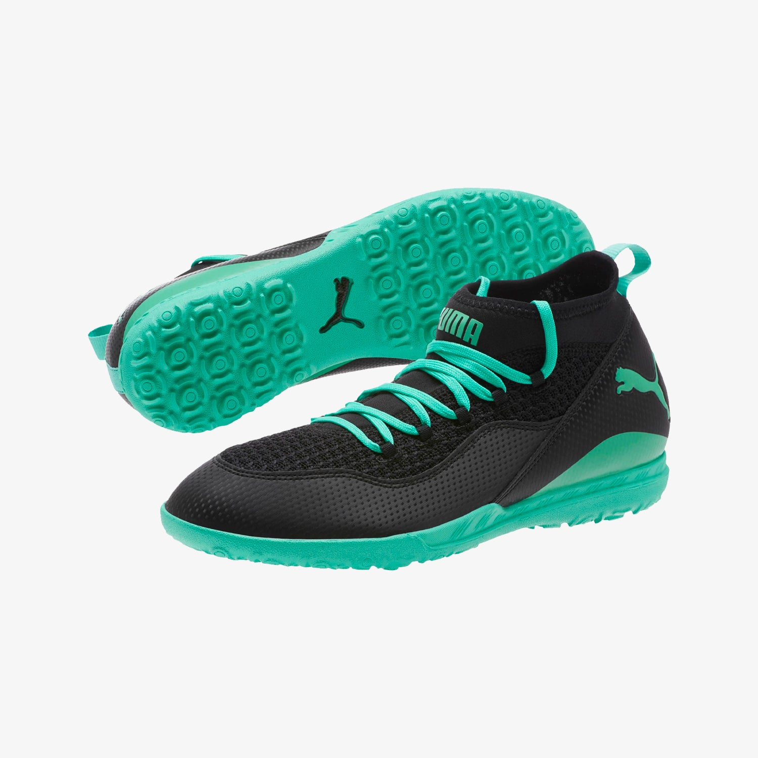 365 FF 3 ST Sneakers - Black/Green