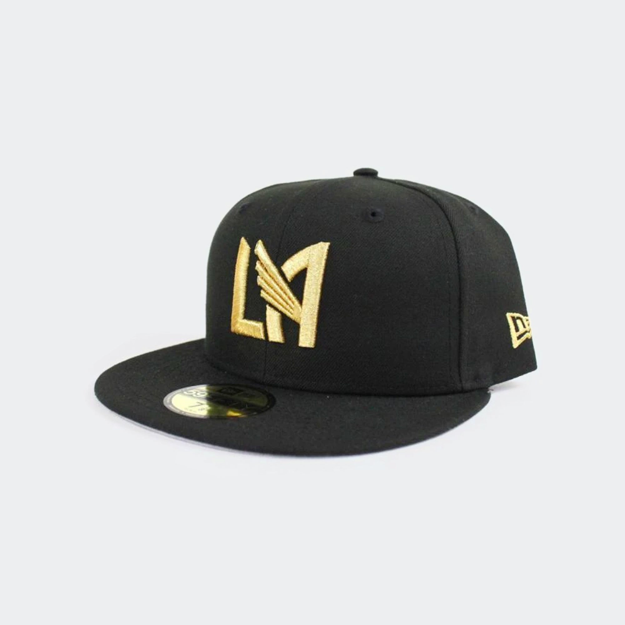 LAFC Fitted 5950 Basic Hat - No MLS Logo
