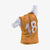 Numbered Vest Orange Youth