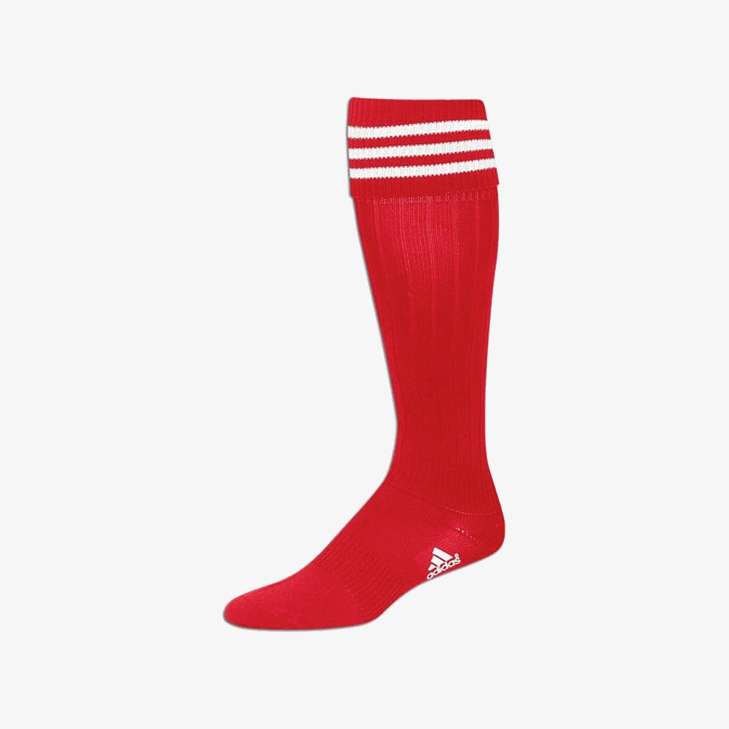 3-Stripe Soccer Sock Red - XSmall