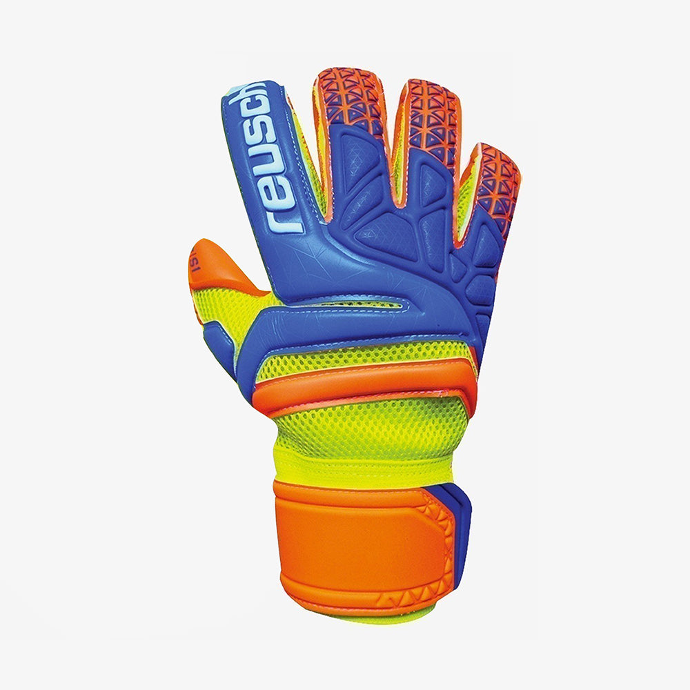 Prisma Prime S1 Evolution Finger Support - Ocean Blue/Safety Yellow