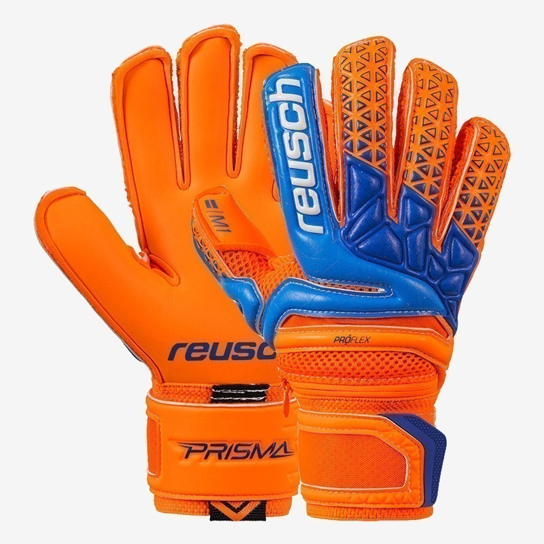 Kid's Prisma Pro M1 Ortho-Tec Jr - Orange/Blue