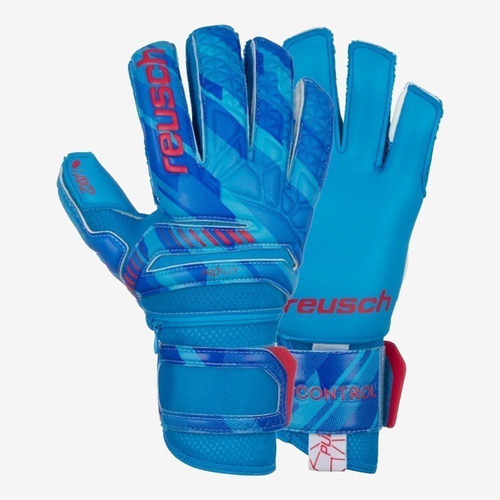 Fit Control Pro AX2 Ortho-Tec Goalkeeper Gloves - Blue