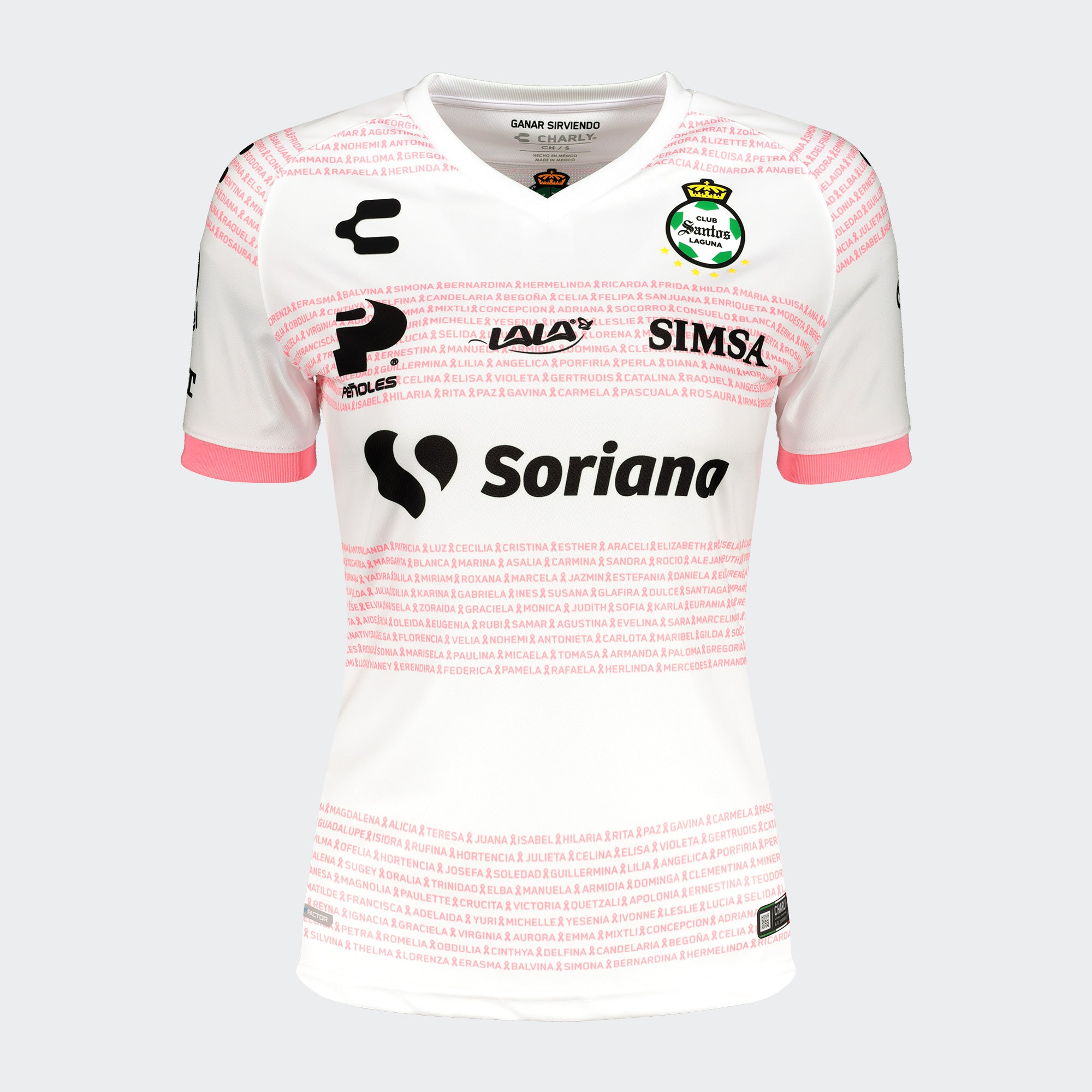 SANTOS LAGUNA PLAYERA BREAST CANCER 20/21 FEMENIL | SANTOS LAGUNA BREAST CANCER JERSEY 20/21 WOMEN'S