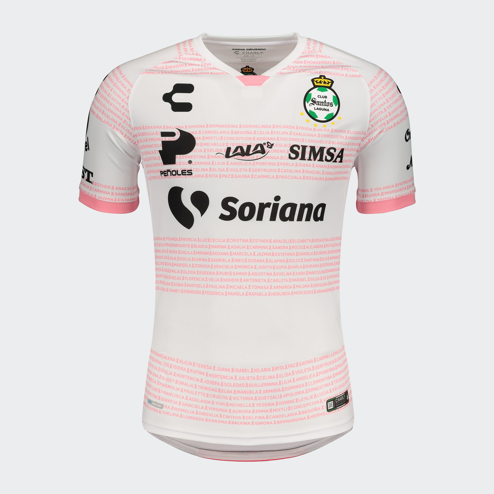 Santos Laguna Playera Breast Cancer 20/21 Hombres | Santos Laguna Breast Cancer Jersey 20/21
