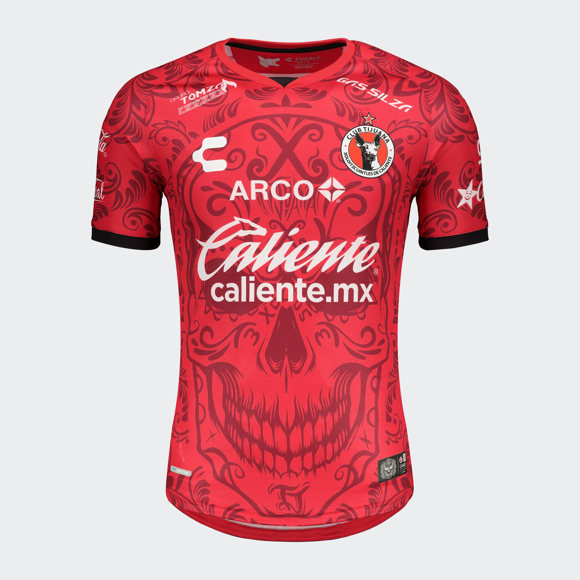 Xolos Dia De Muertos Playera Hombres | Xolos Day Of The Dead Jersey Men's