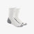 ALPHASKIN TRAX CUSHIONED CREW SOCKS MEDIUM WHITE