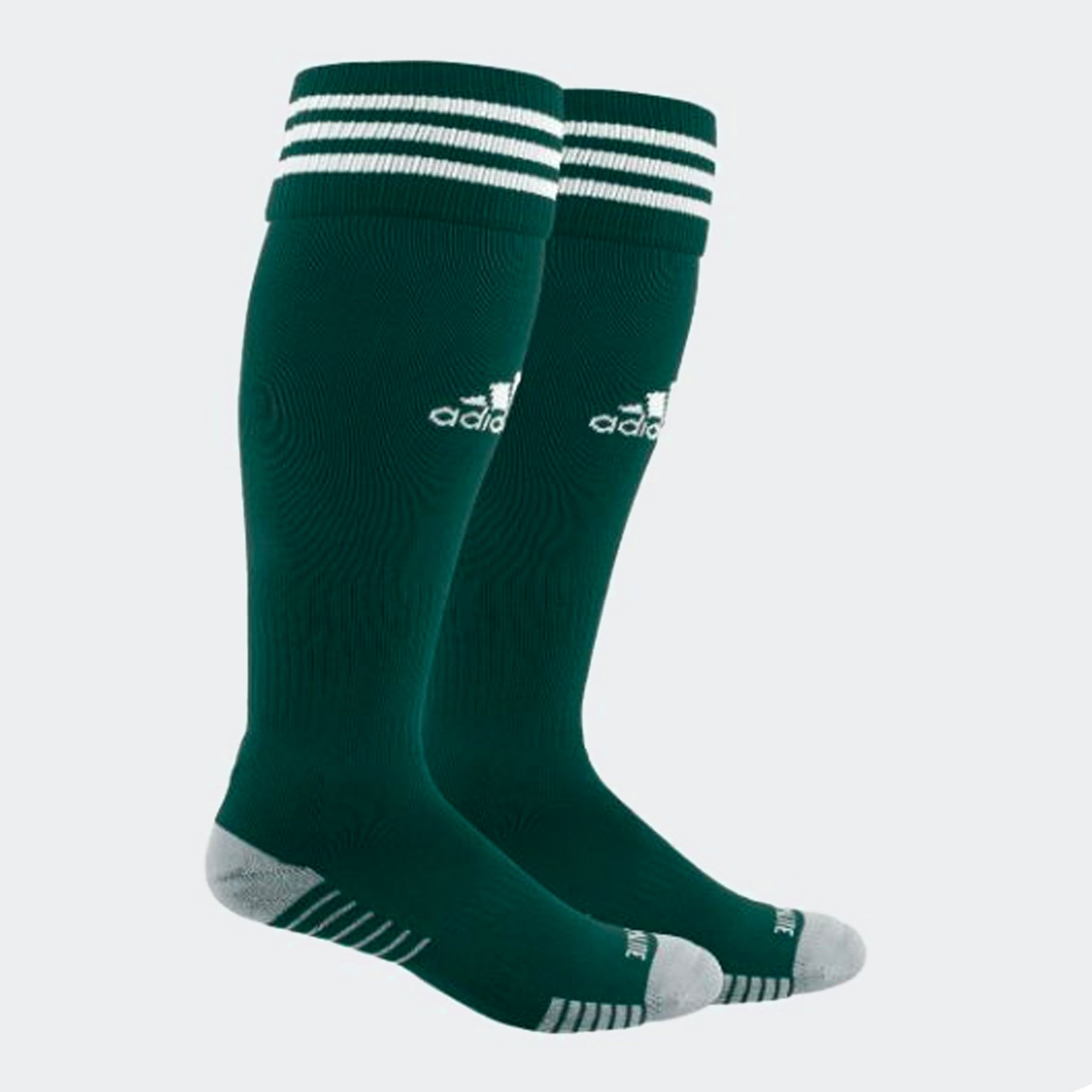Adidas Copa Zone Cushion Iv Sock - Green/White