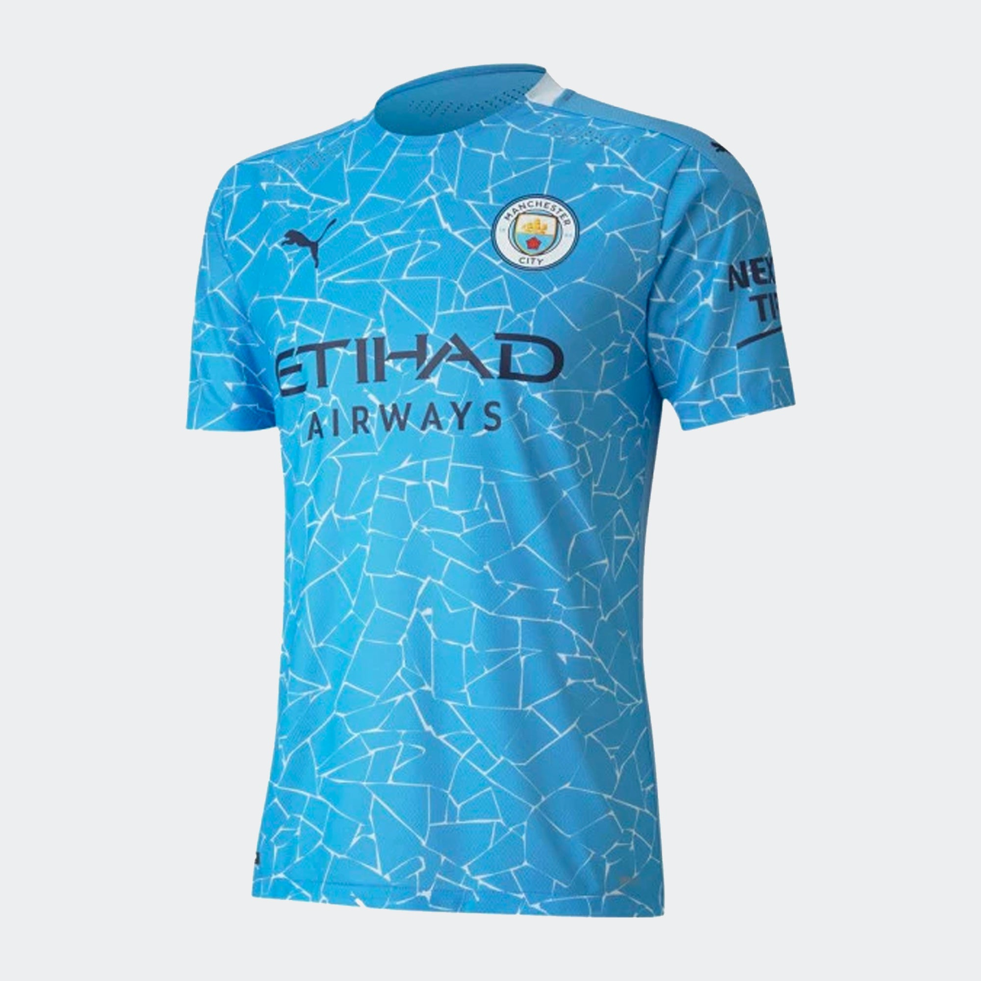 Manchester City Home Authentic Soccer Jersey 20-21