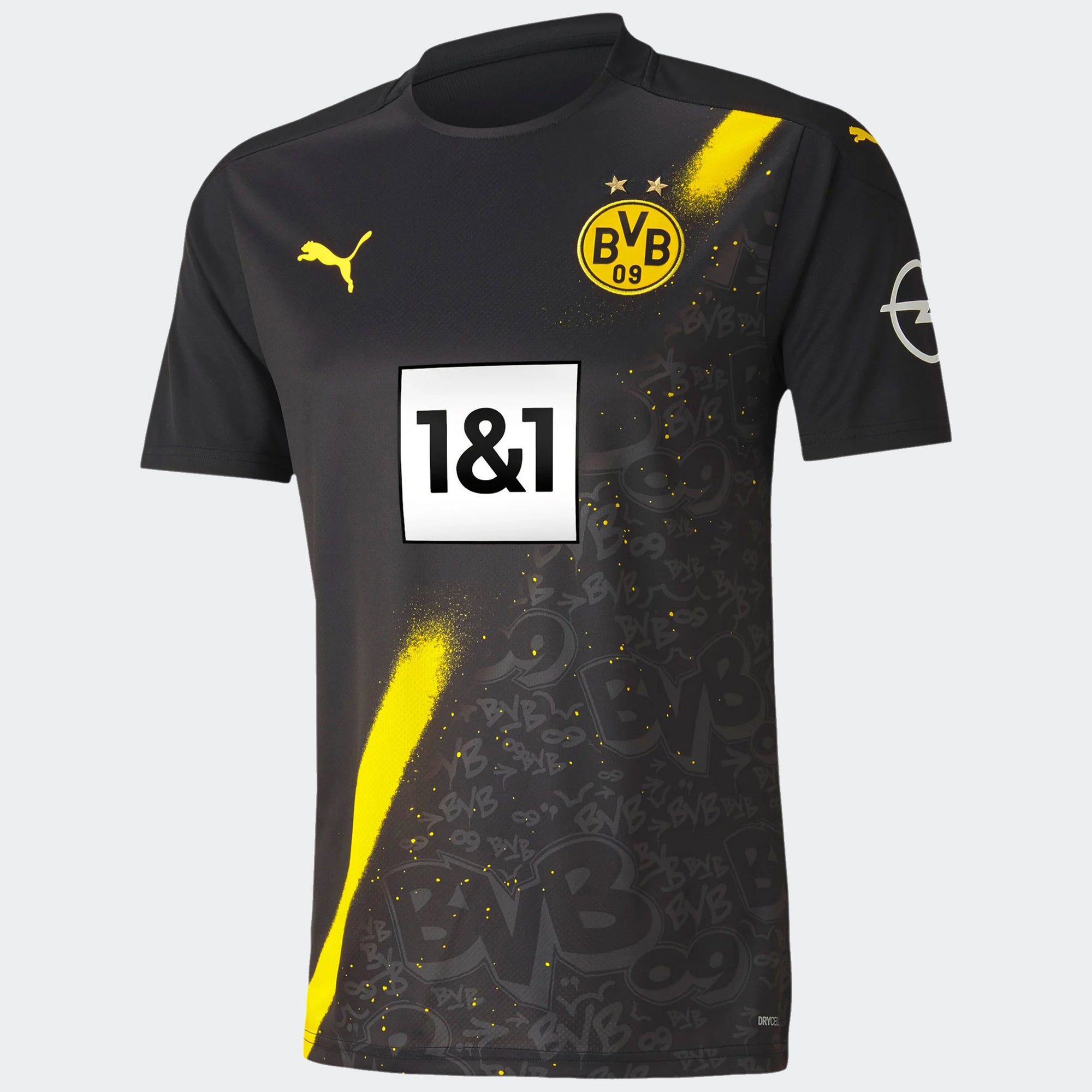 Borussia Dortmund Away Stadium Jersey 20/21 Men's