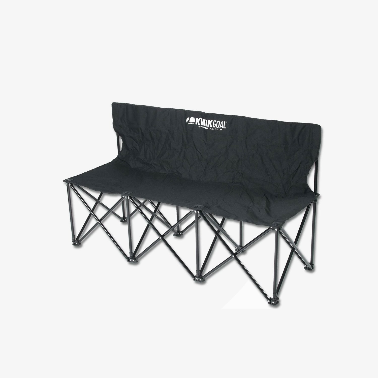 Three Seat Bench - Black