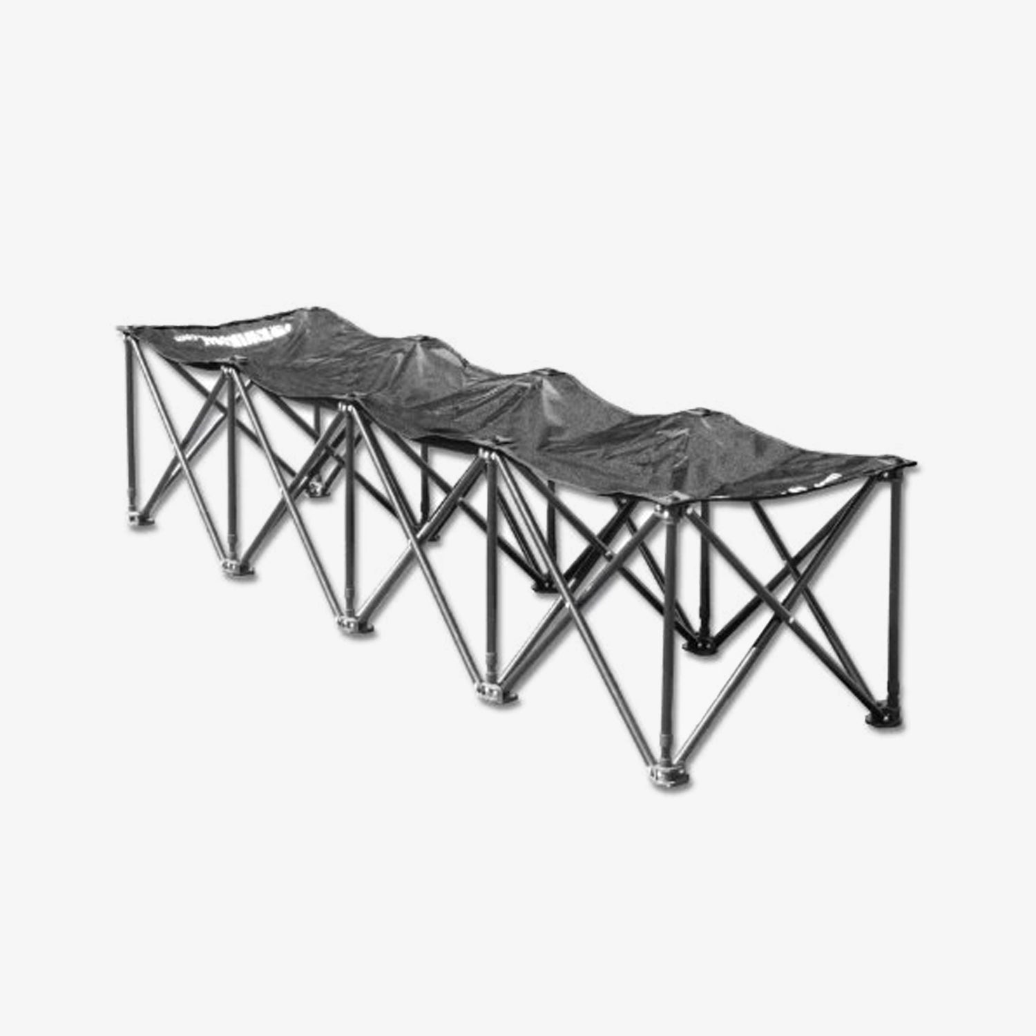 4 Seat Kwik Bench - Black
