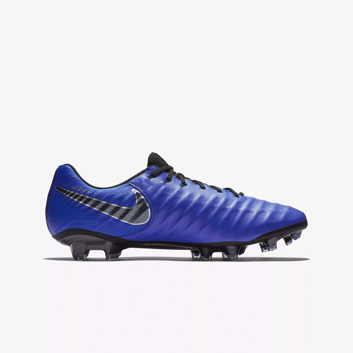 Men's Tiempo Legend 7 Elite FG Soccer Cleats - Blue/Silver/Black