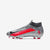 Men's Mercurial Superfly 7 Pro Firm Ground Soccer Shoes Silver