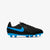 Kid's Tiempo Legend 8 Club Multi-Ground Cleats - Black/Blue Hero