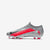 Men's Mercurial Vapor 13 Pro Firm Ground Soccer Shoes Silver