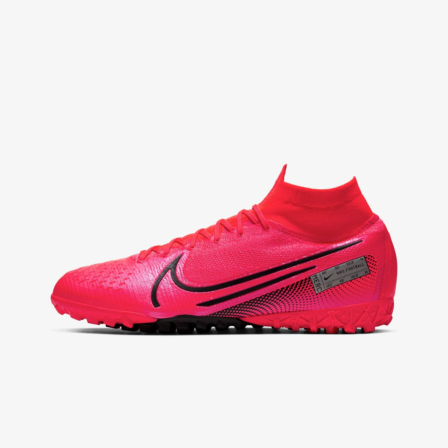 Mercurial Superfly 7 Elite TF Artificial-Turf Soccer Shoe Crimson