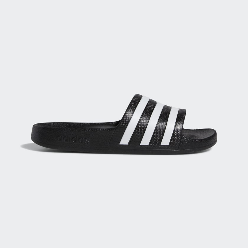 Adilette Aqua Slides Core Black Women's