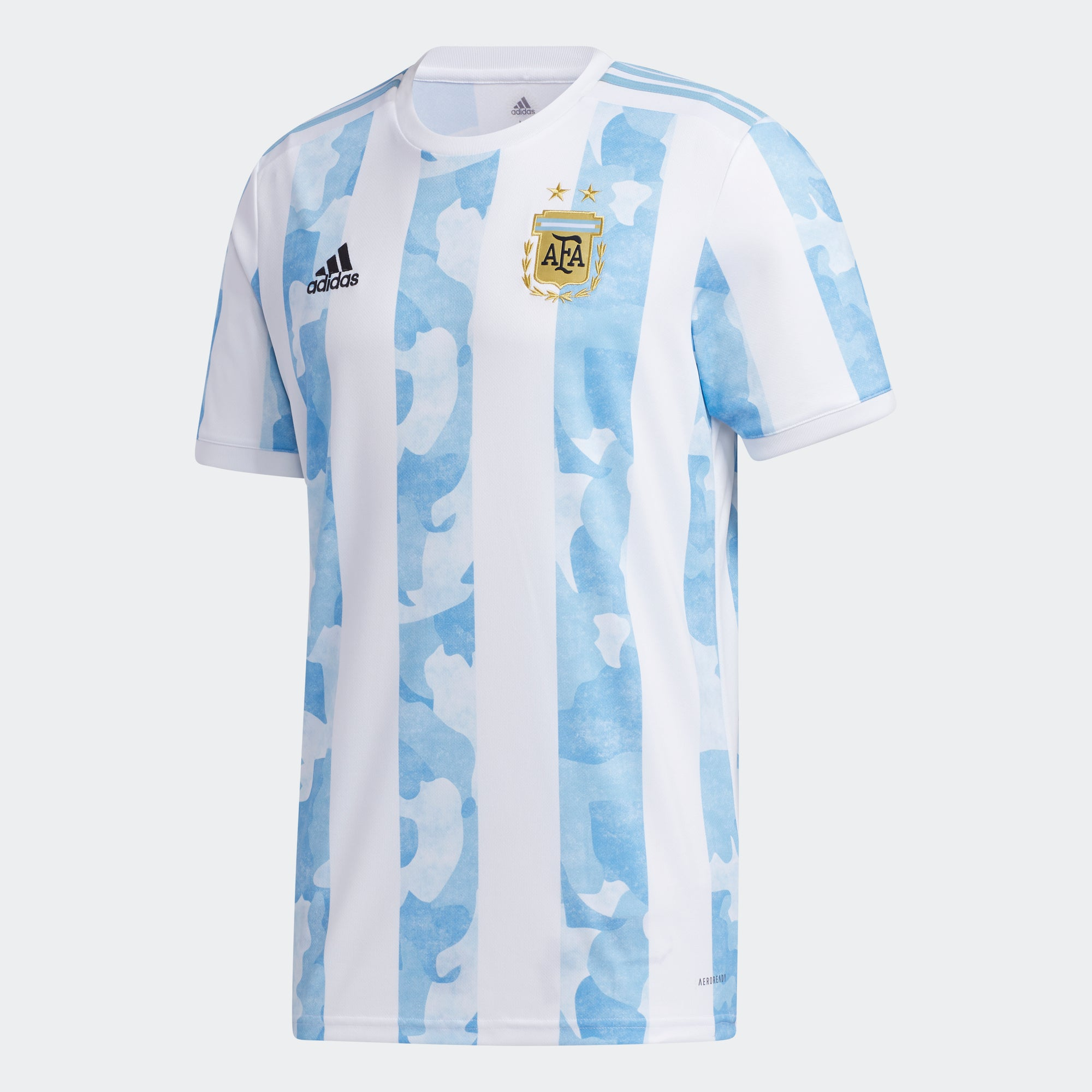Argentina Home 2019/20 Jersey - White/Clear Blue