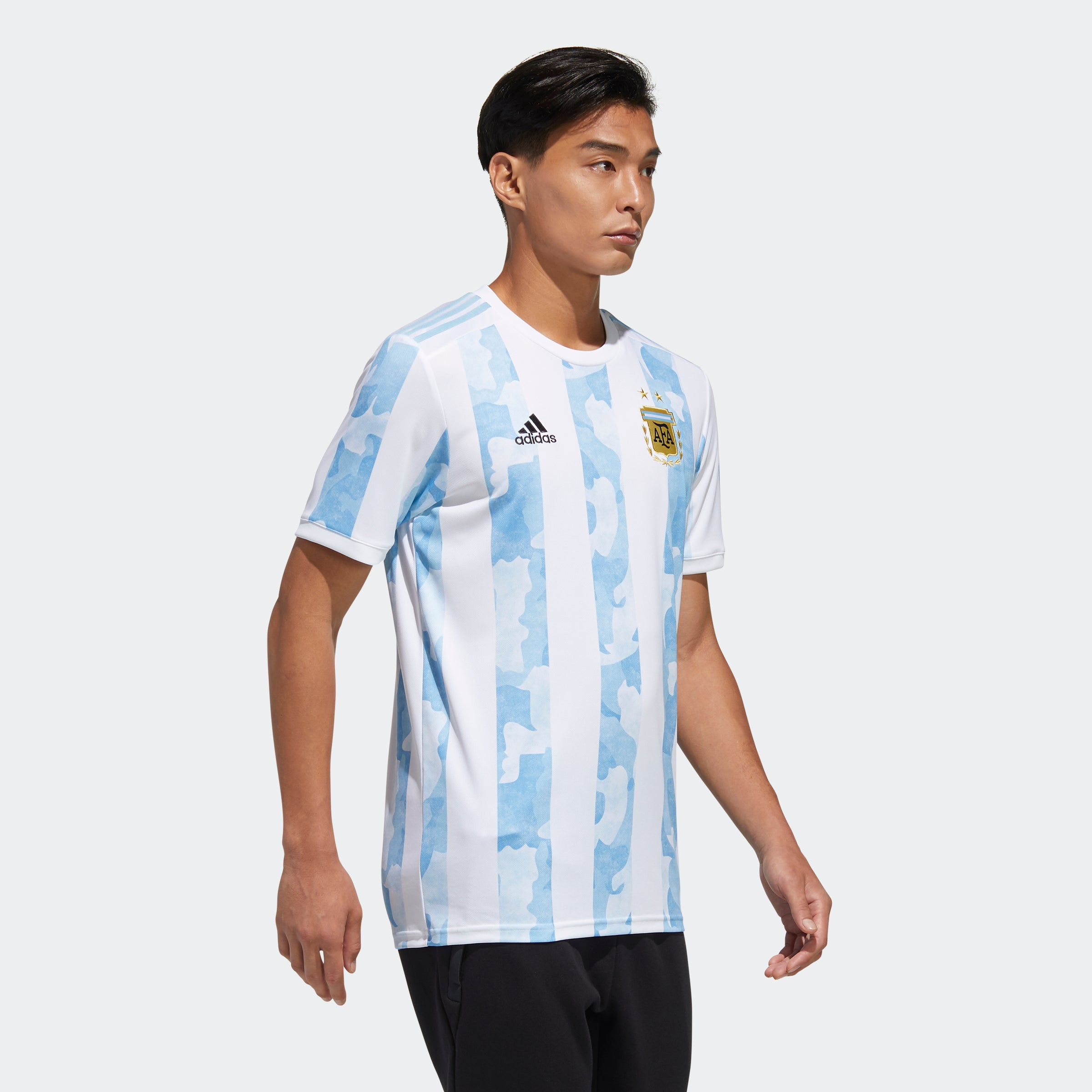 Argentina Home 2019/20 Jersey - White/Clear Blue - Niky's Sports