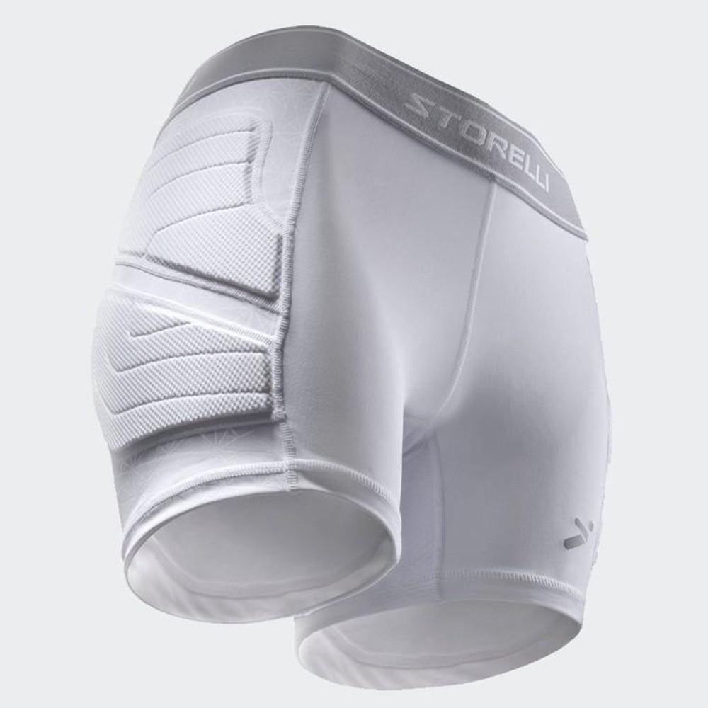 Women's BodyShield Slider Shorts - White