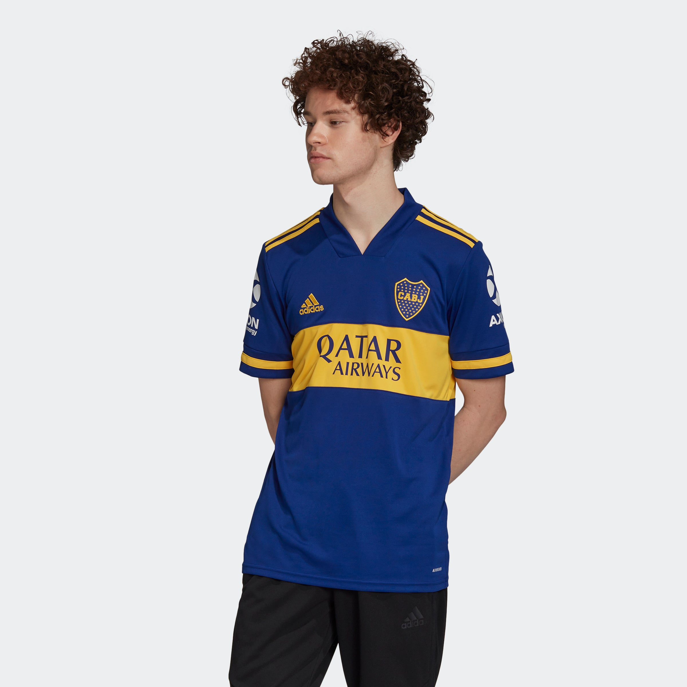 Boca Juniors Home Jersey - Mystery Ink/Bold Gold - Niky's Sports