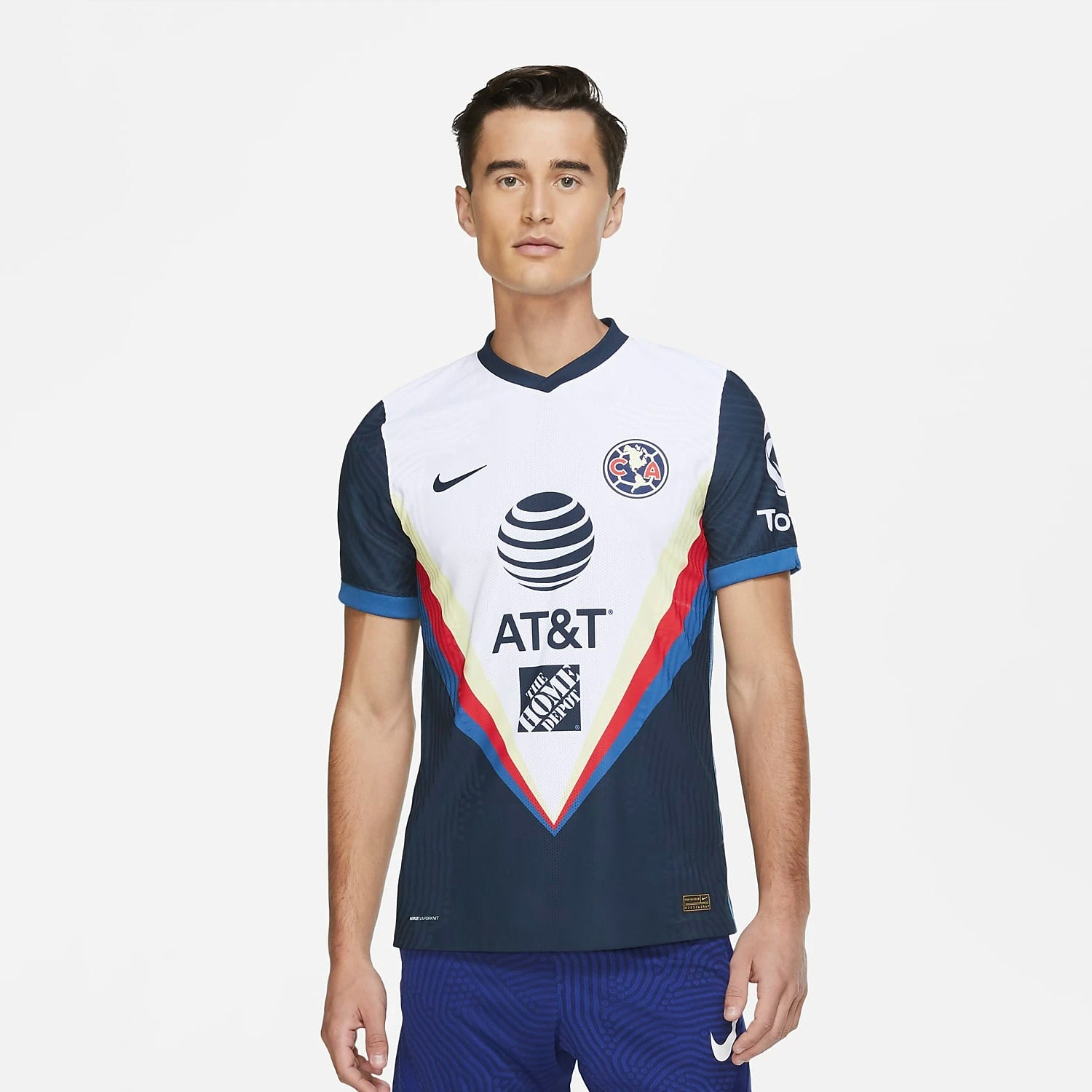 CLUB AMERICA AUTENTICA PLAYERA VISITA 20-21 | Club America Vapor Match Away Jersey 20/21