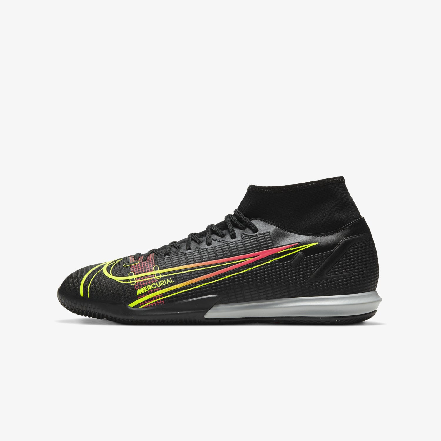 Mercurial Superfly 8 Academy Indoor Soccer Shoes Black