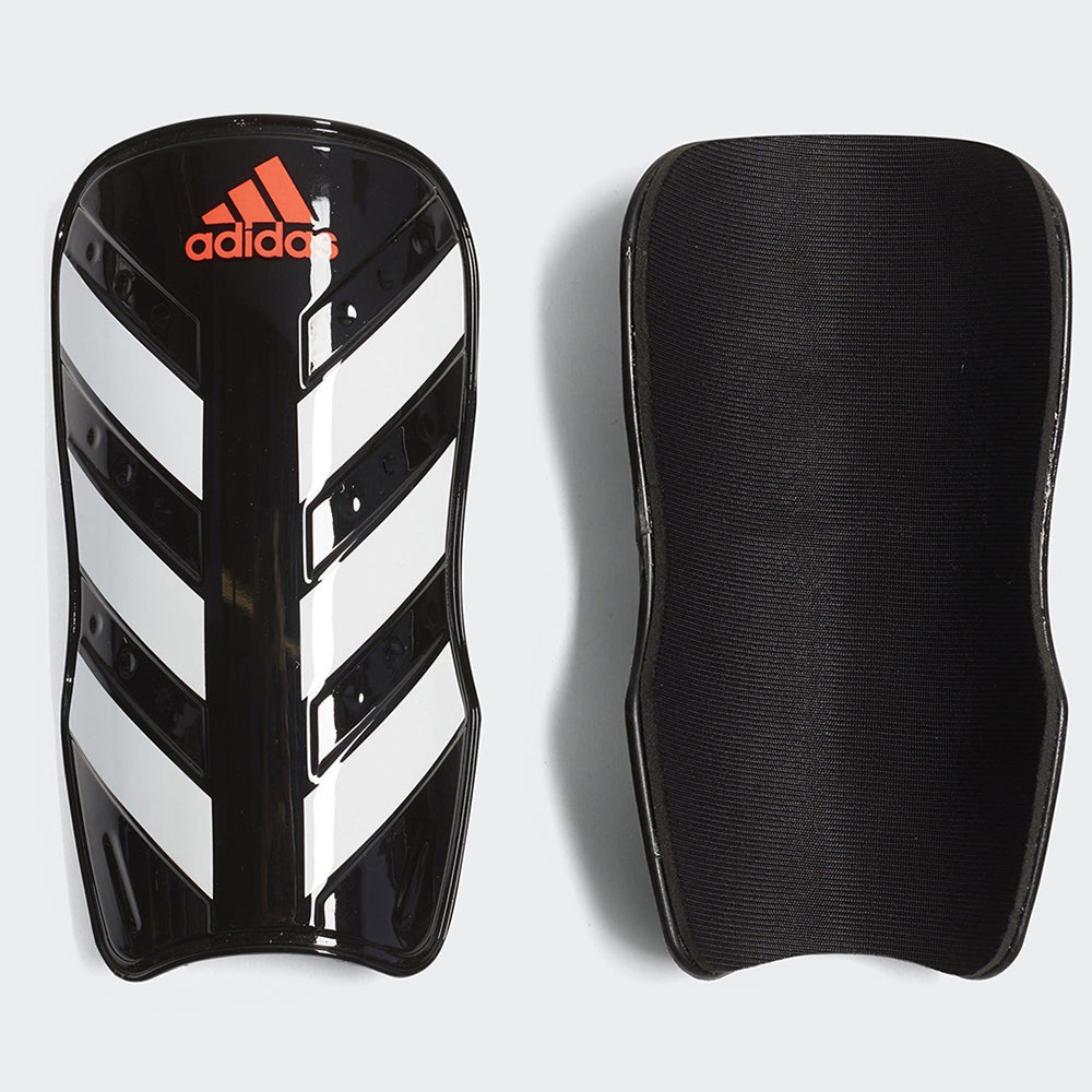 Everlesto Shin Guard - Black/White/Solar Red