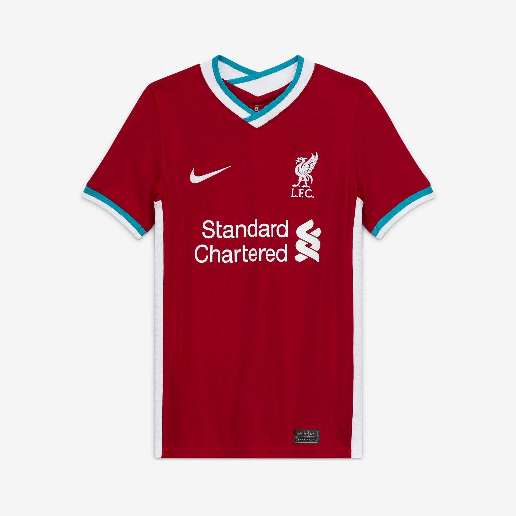 Liverpool Home Youth Jersey 2020/21