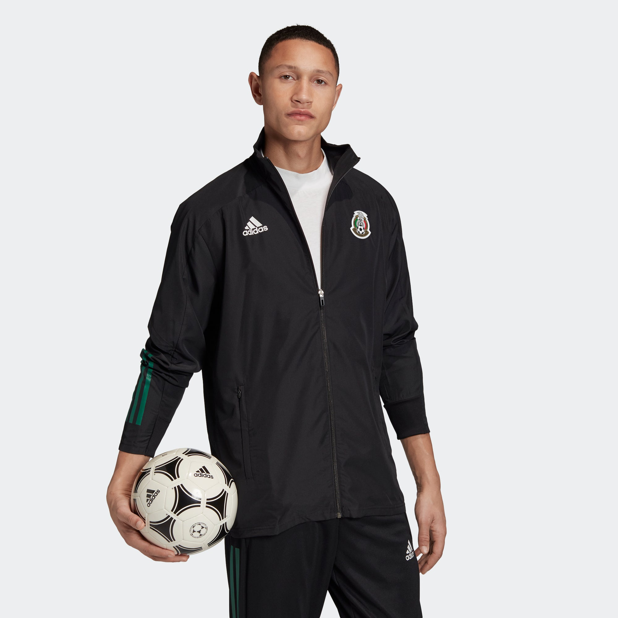Mexico Pre-Match Jacket 2020 - Black