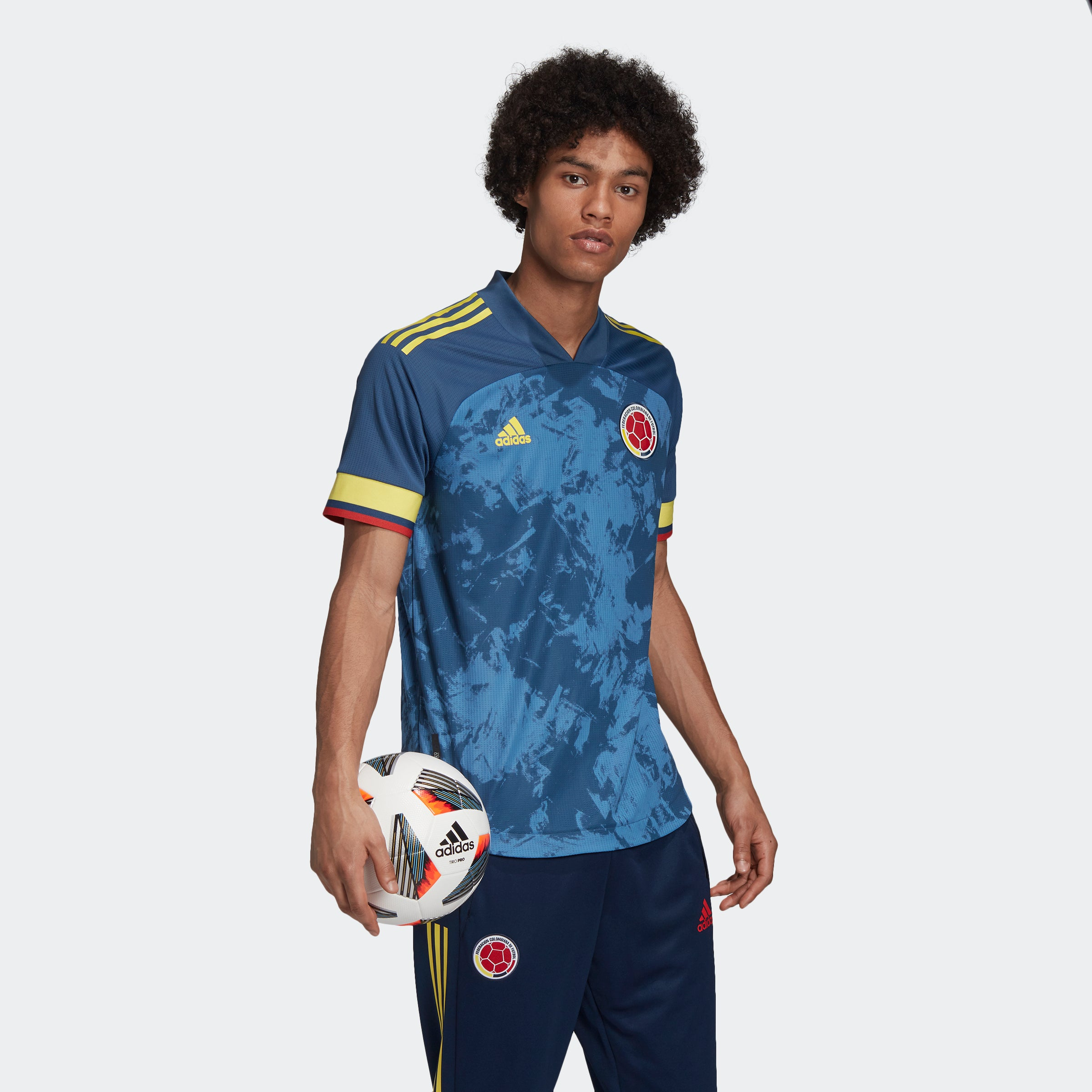 Colombia Away Authentic Soccer Jersey - Niky's Sports