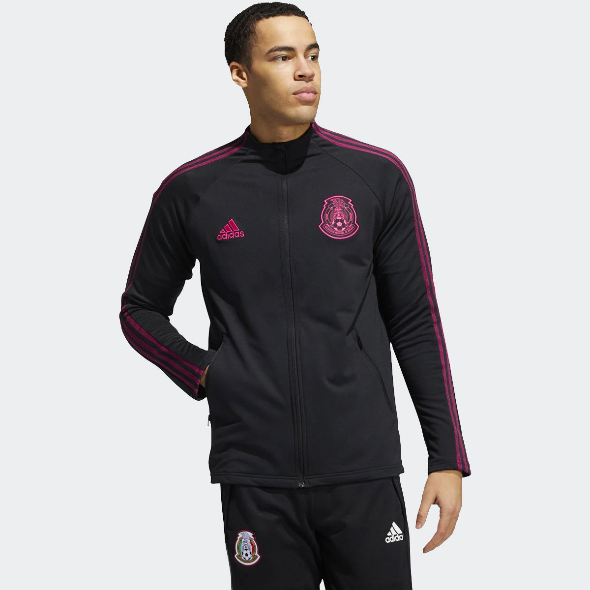 Mexico 20/21 Anthem Jacket Men's - Black