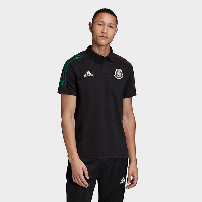 Mexico Polo Shirt Men's - Black