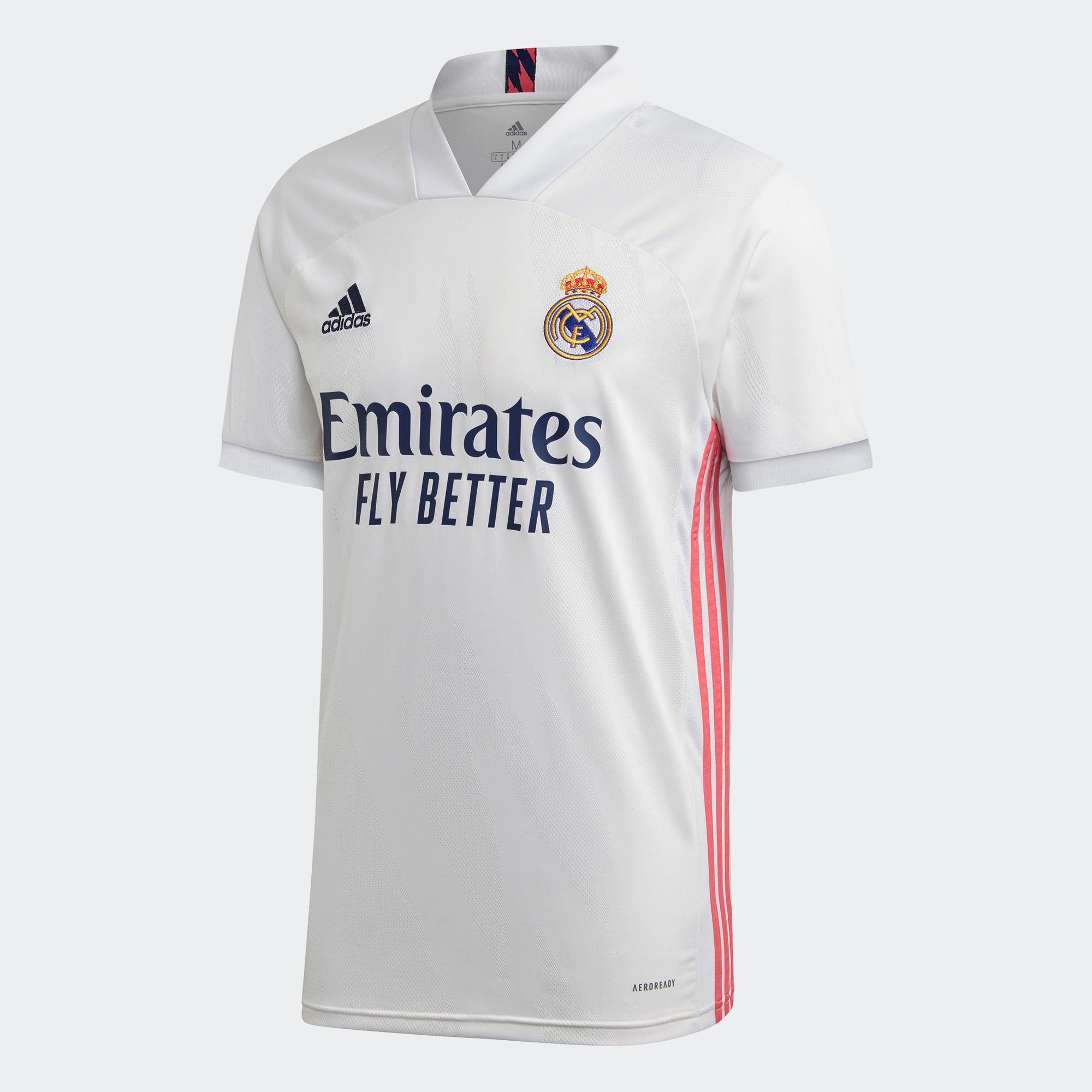 Real Madrid Home Short Sleeve Jesey 20/21 Men's