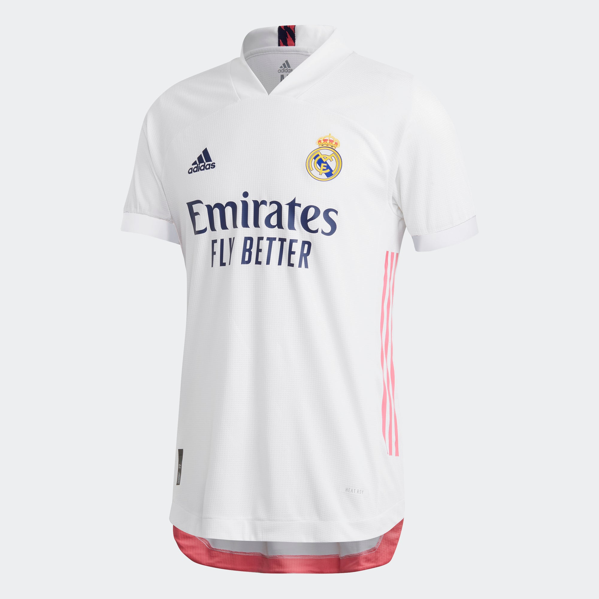 Real Madrid Authentic Home Short Sleeve Jersey 20/21 Men's