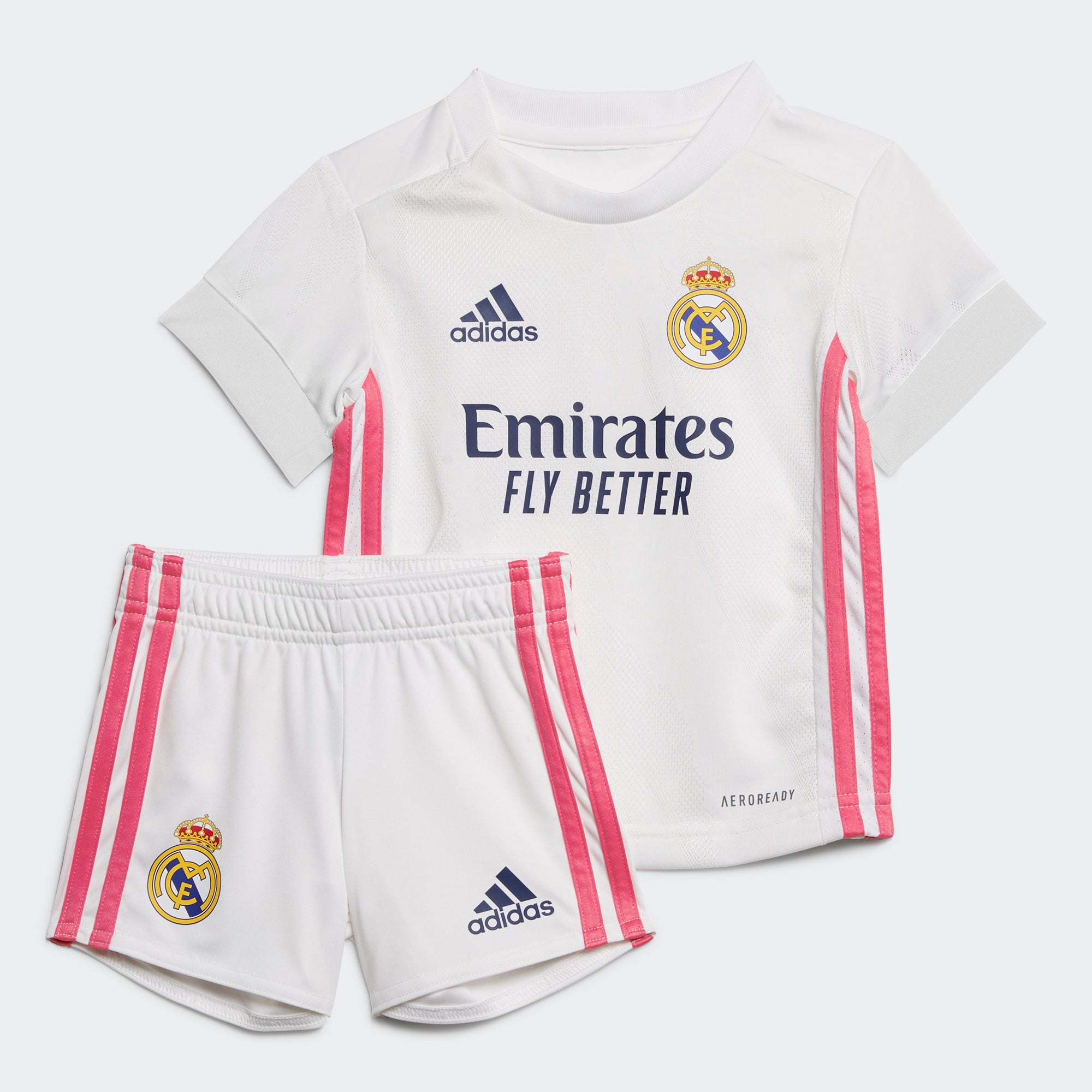 Real Madrid Home Baby Mini Kit 2020/21 6-18 Months