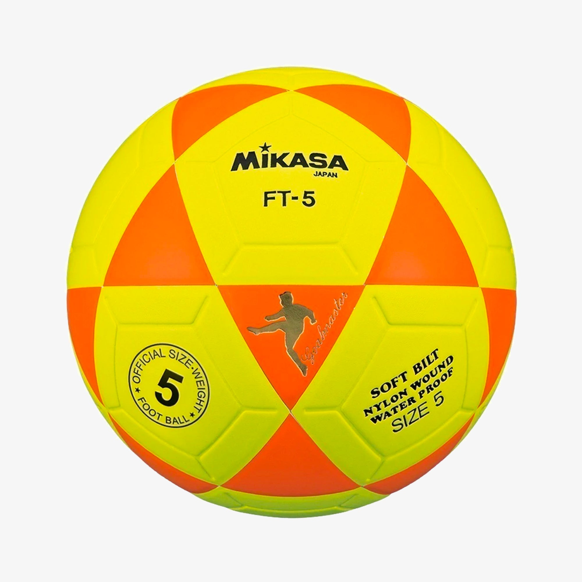 Ft-5 Soccer Ball Orange/yellow