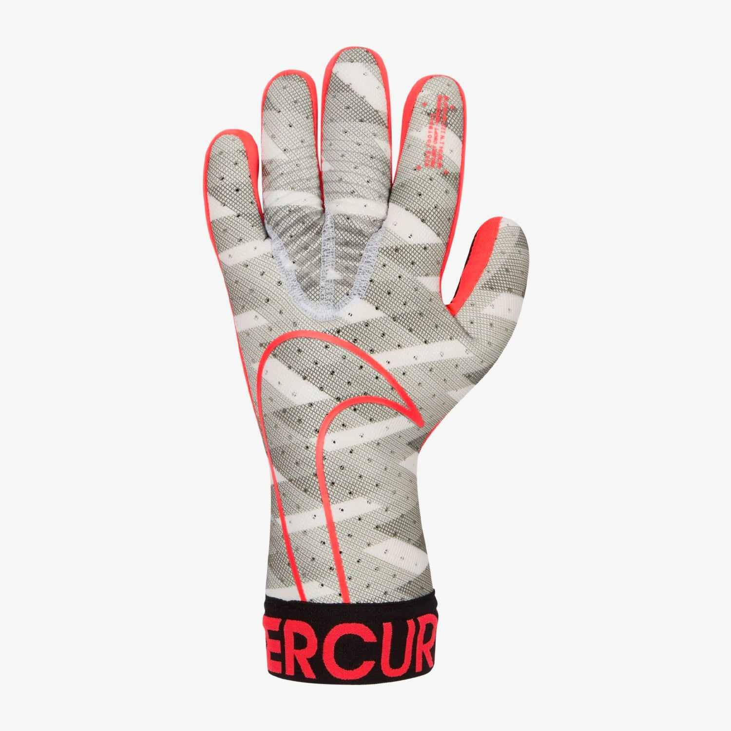 GFX Mercurial Touch Elite Goalkeeper Gloves – White/Black